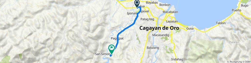 Cagayan de Oro National Highway to Unnamed Road, Cagayan de Oro