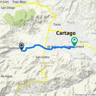 De Unnamed Road a Calle 23, Cartago