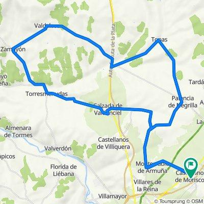 Vuelta Topas - Valdelosa - Calzada de Vandunciel