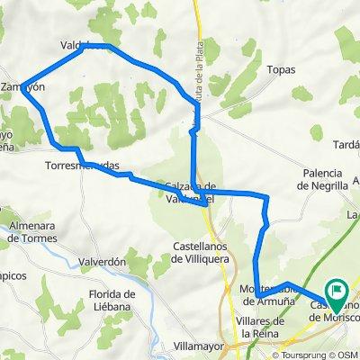 Vuelta Calzada Vandunciel - Zamayon
