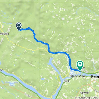 Route to 1192 Route 105, Douglas