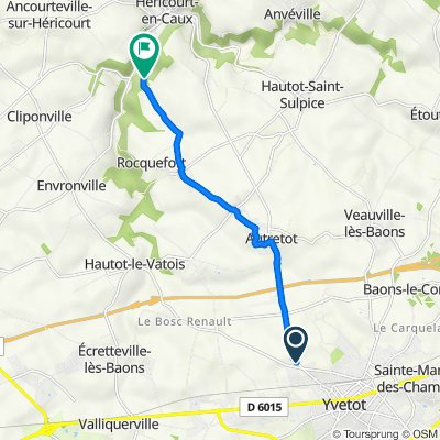 Route de Cany 301, Valliquerville do Route D Héricourt, Héricourt-en-Caux