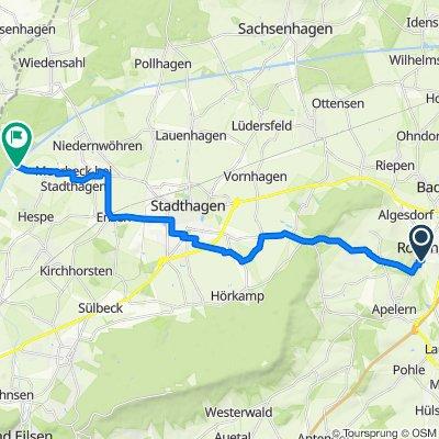 Hölderlinweg 3, Rodenberg nach Bornstraße 17, Meerbeck