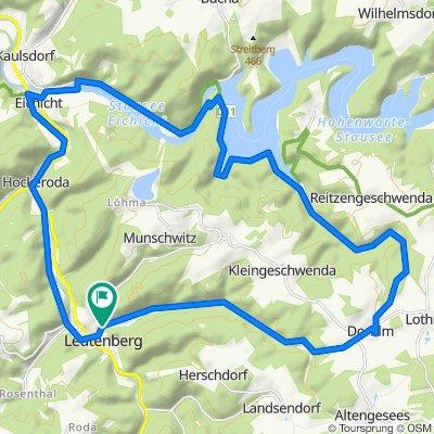 Feierabendtour Leutenberg - Hohenwarte
