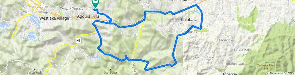 5827 Kanan Rd, Agoura Hills to 5827 Kanan Rd, Agoura Hills