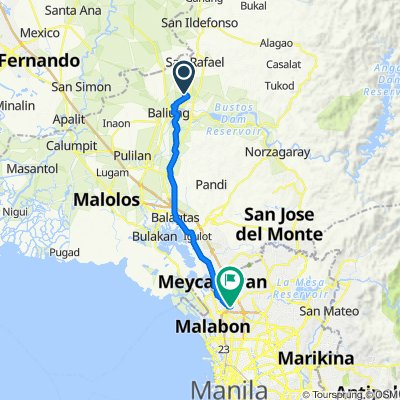 Unnamed Road, San Rafael to Tanguile 60, Lungsod ng Valenzuela