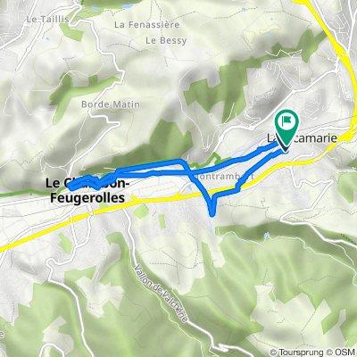 De 9 Rue du 4 Septembre, La Ricamarie à 6 Rue des Freres Giraud Et Poinat, La Ricamarie