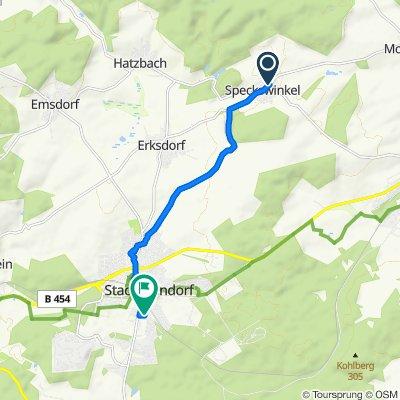 Reformstraße 3A, Neustadt (Hessen) nach Gerhart-Hauptmann-Straße 13, Stadtallendorf