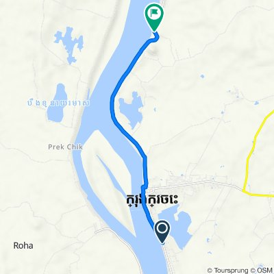 Route from 308, Kracheh