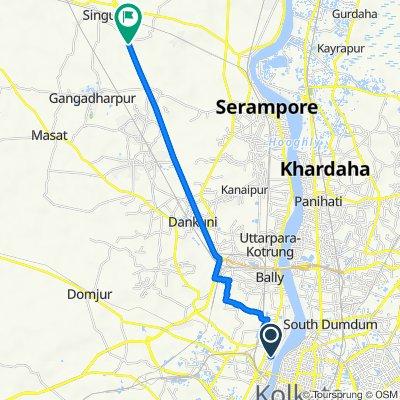 Upendranath Mitra Lane 16, Howrah to Sekampur - Sahapur Road