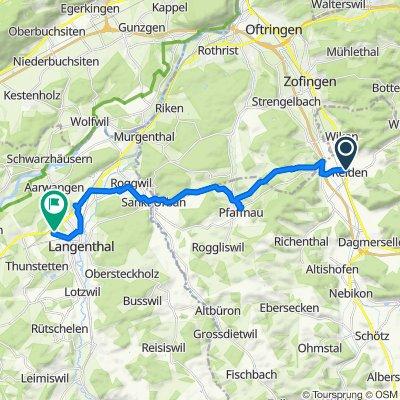 Oberdorfstrasse 2, Reiden nach Weststrasse 90, Langenthal