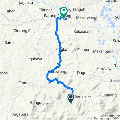 C. Rahong to Madagascar via Pingku