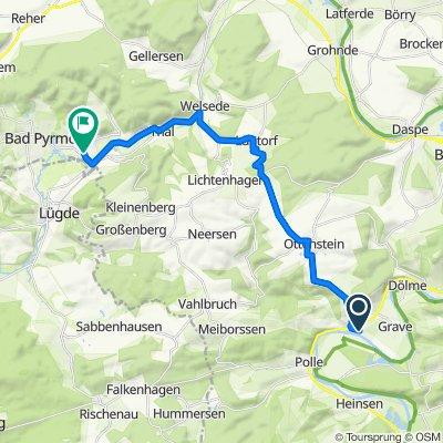 Papenbreite 3, Brevörde to Helenenstraße 14, Bad Pyrmont