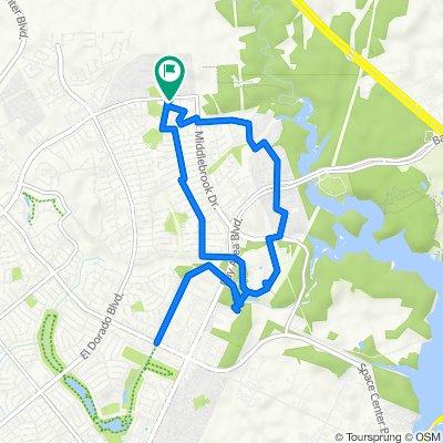 17114 Chapel Park Way, Houston to 17118 Chapel Park Way, Houston