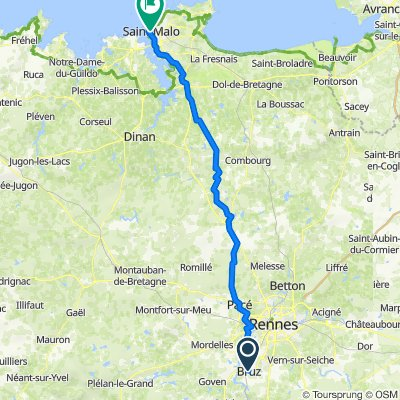 Day 22 - Lucca to London - Bruz to Saint Malo