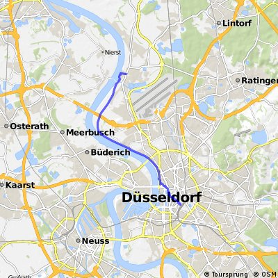Düsseldorf Hbf - Kaiserswerth