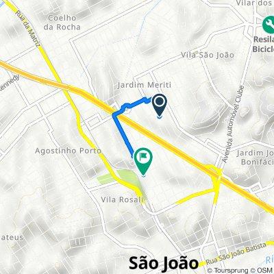 De Rua Mariana M. de Medeiros 1099 a Avenida Fluminense 190