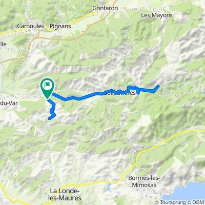 Pierrefeu-du-Var Cycling
