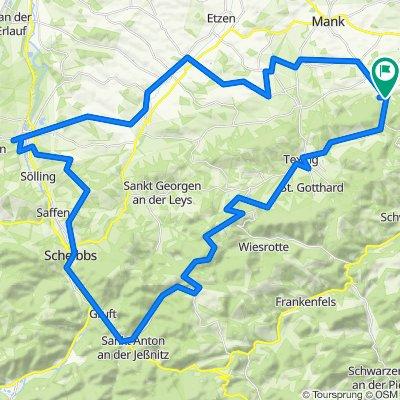 Plankenstein Purgstall Alpenvorlandrunde