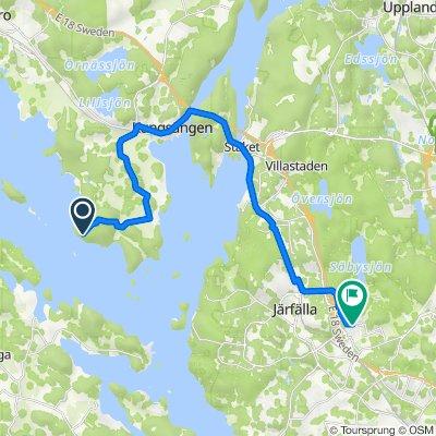 Frölundavägen 3, Upplands-Bro to Tunnangatan, Järfälla