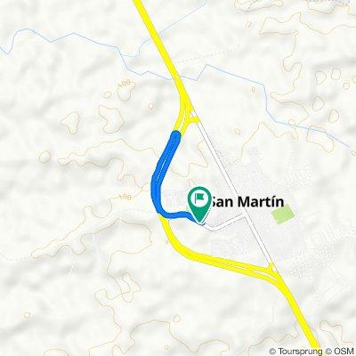 De San Martín a Calle 14 4-19
