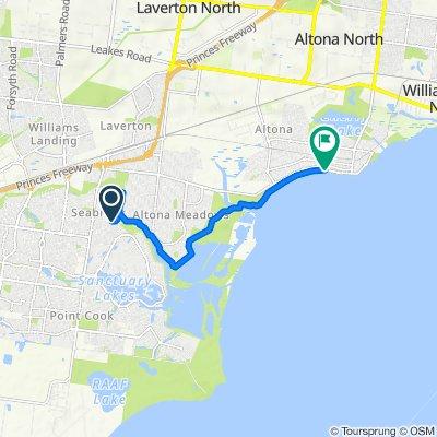 16 Gundowring Drive, Seabrook to 2 Sargood Street, Altona
