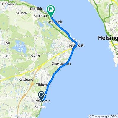 Humlebæk Strandvej 77, Humlebæk to Bøssemagergade, Hellebæk