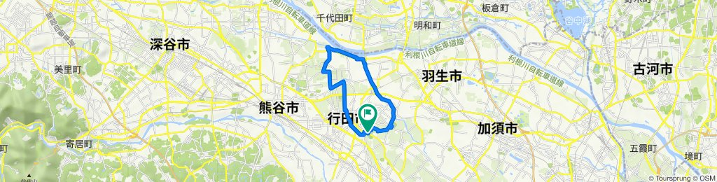 5219, Sakitama, Gyoda to 5219, Sakitama, Gyoda