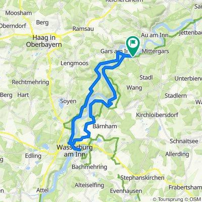 Gars - Wasserburg und zruck