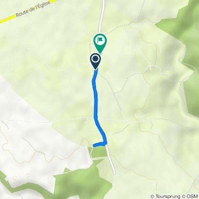 De 10 Route de la Ferme des Portes, Fourmetot à 91 Route de la Croisée, Fourmetot