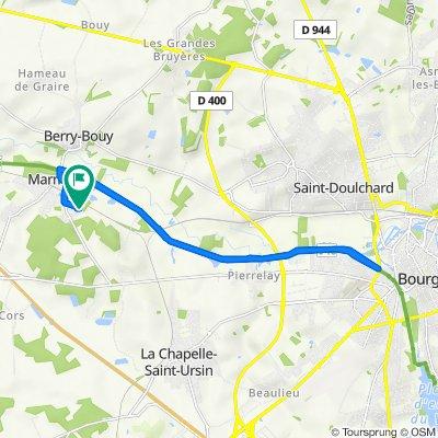 De 25 Chemin du Bocage, Marmagne à 24 Résidence de la Croix Saint-Marc, Marmagne