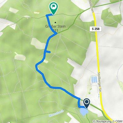 Forstwiesenweg, Zwönitz nach Unnamed Road, Zwönitz