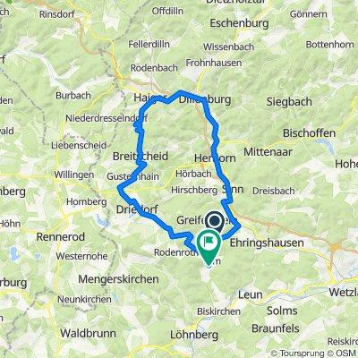 L3282, Greifenstein nach Auf dem Hohen Rain 15, Greifenstein