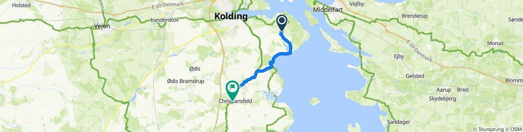 Løveroddevej 1, Sønder Stenderup to Borgmestervej 1I, Christiansfeld