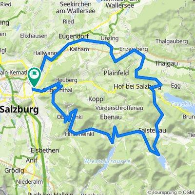 Salzburg | große Runde um Heuberg und Gaisberg