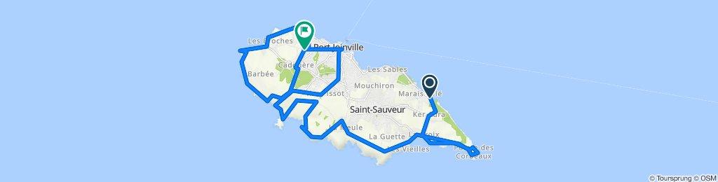 De 71 Chemin des Borderies, L'Île-d'Yeu à 9 Chemin du Fief du Bois, L'Île-d'Yeu
