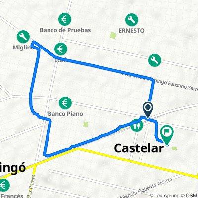 De Gobernador Inocencio Arias 2282–2292, Morón a Calle Gregorio de Laferrere 625, Morón