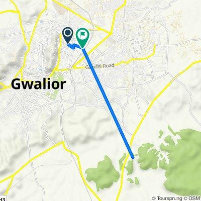 B19, Gwalior to 6A, Gwalior