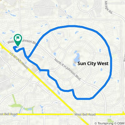 14906 W Antelope Dr, Sun City West to 14906 W Antelope Dr, Sun City West