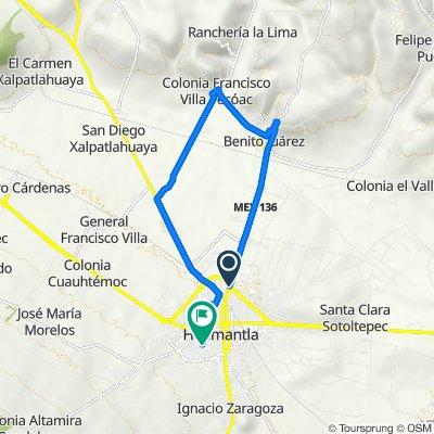 De Huamantla-Apizaco 552 a Matamoros Poniente 4, Huamantla