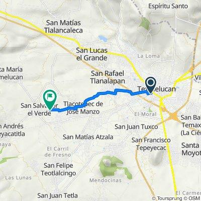 De Calle Cuahutemoc 8, San Martín Texmelucan de Labastida a Calle 16 De Septiembre 890, San Salvador el Verde
