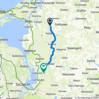 Trasa do Borowikowa 2, Lubczyna