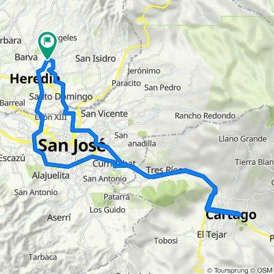 San Rafael de Heredia - Cartago - Cartago san Rafael de Heredia.