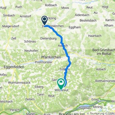 Schaföd 1, Johanniskirchen nach Gh - Wittibreut