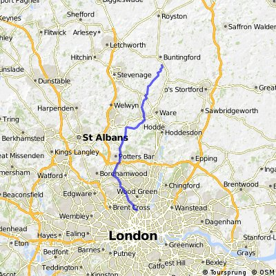 Finsbury Park to Westmill
