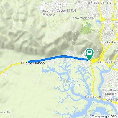De *Av. Principal Y Calle Primera, Guayaquil a *Av. Principal Y Calle Primera, Guayaquil