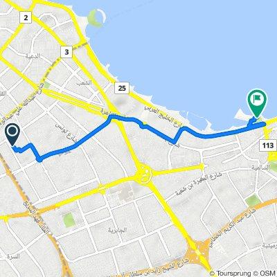 hawalli to marina walk