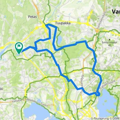 Follow the River Vantaanjoki