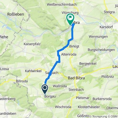 Unnamed Road, Finneland nach Am Bahnhof 10, Nebra (Unstrut)
