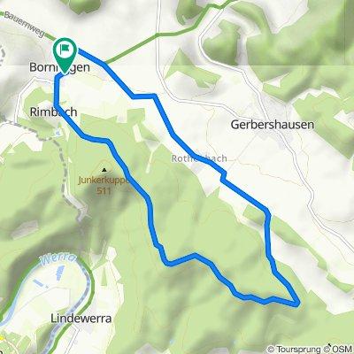 Bornhagen Radfahren